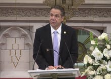 Gov. Cuomo tells New Yorkers to fight for tolerance, justice in stirring speech