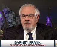 Barney Frank says Trump's favorite judge Scalia was for f*g not flag burning