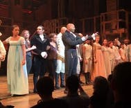 Hamilton cast calls out Mike Pence in the crowd with message of anxiety and hope