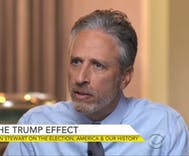 Jon Stewart says Trump is a repudiation of Republicans, but they will benefit