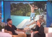 Ricky Martin tells Ellen DeGeneres he is engaged, shares all the details