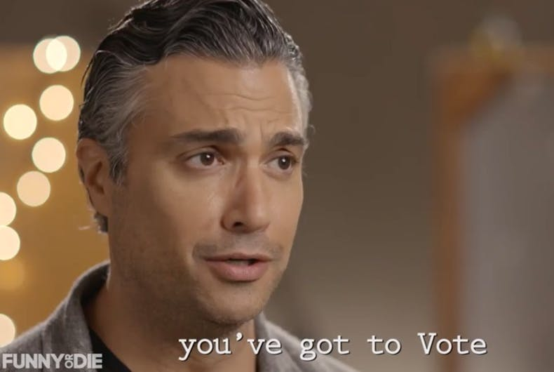 Crazy funny 'We Are The World' style celebrity get out the vote video goes viral