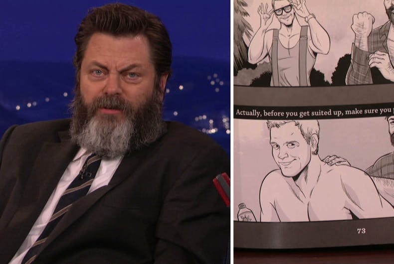 Nick Offerman Conan