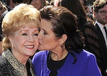 One day after daughter Carrie Fisher's death, actress Debbie Reynolds dies at 84