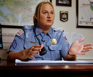 Trans cop faces discipline after 'extremely disturbing' incidents with minors