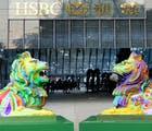 Bigots roaring mad at 'disgusting gay lions' Pride display in Hong Kong