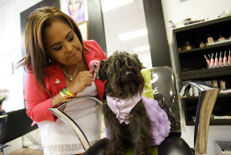 Six months after brother died at Pulse, sister reopens his salon