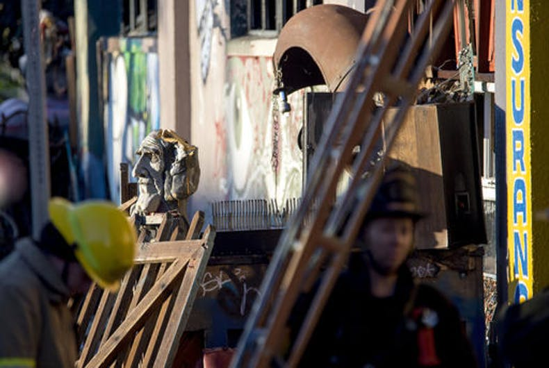 Site of deadly Oakland warehouse fire was a live-work artist space