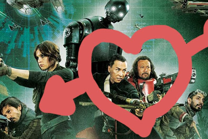 Does 'Rogue One' include Star Wars' first gay couple or is it all hype?