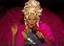 Rediscover RuPaul's dragalicious 'Christmas Ball' TV special from 1993
