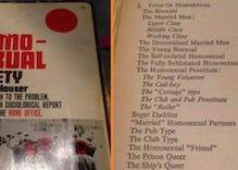 This 1950s book lays out 45 kinds of gays, but it's not all rainbows