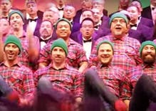 Watch: San Diego Gay Men's Chorus brings the cheer with 'Hand Jive Jingle'