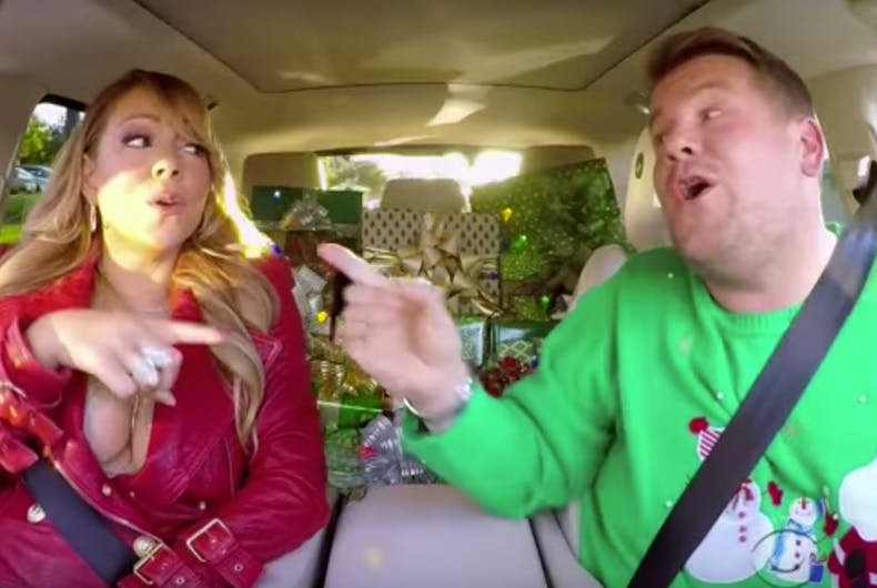 All you need for Christmas is Mariah Carey's return to Carpool Karaoke
