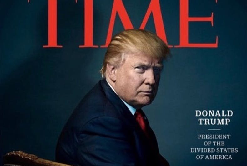Did Time include a secret dig at Donald Trump in Person of the Year cover?