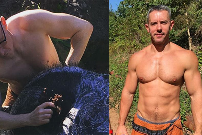 Anderson Cooper and his partner share sweet pictures of caring for elephants