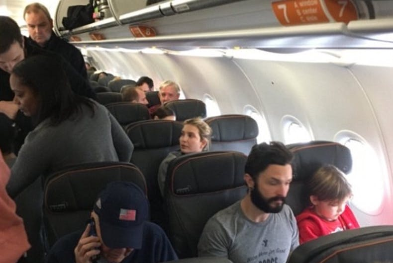 Gay man accosts Ivanka Trump on JetBlue flight, gets pitched off plane