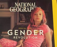 National Geographic puts first trans person on cover and she's 9 years old