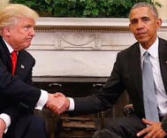 Trump claims President Obama has approved of his homophobic cabinet picks