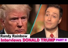 Randy Rainbow sits down with president-elect Trump to assess the damage