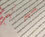 Student refuses to let her professor whitewash the Stonewall riots