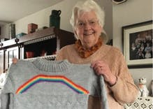 After coming out as bisexual, this woman got a heartwarming gift from grandma