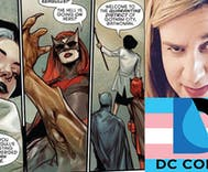 BAM! Batman revealed as transgender ally & DC comics writer comes out as trans