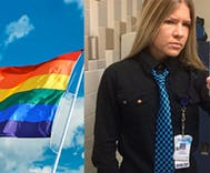 Hospital worker quits when boss demands she delete pride flag screensaver