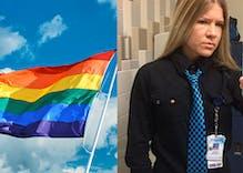 Hospital worker quits when boss demands she delete pride flag screensaver