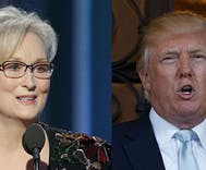 Meryl Streep gutted Donald Trump at the Golden Globes so he responded on Twitter