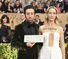 At SAG Awards, protest of Trump's immigration ban steals the spotlight
