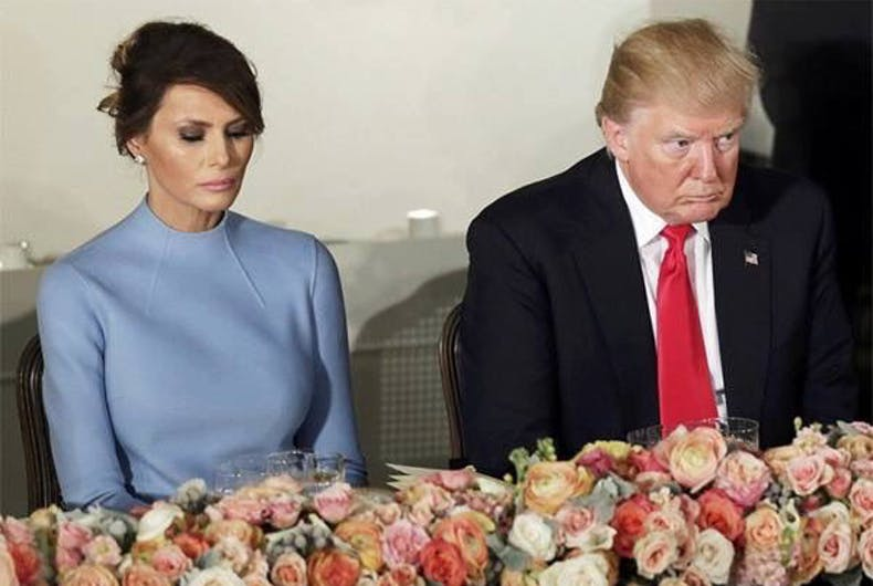 Image result for melania trump looking sad