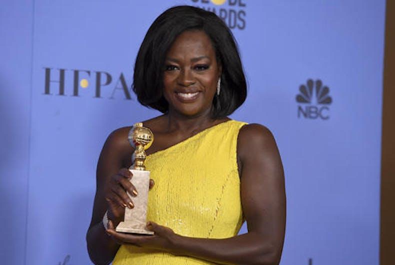 The full list of last night's Golden Globe Award winners