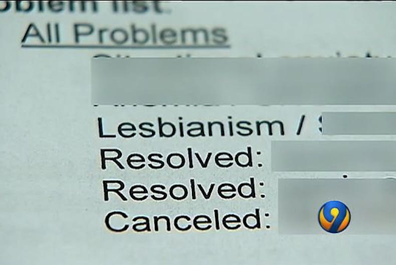 lesbianism medical condition