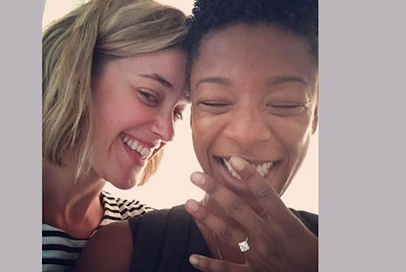 OITNB's Samira Wiley and Lauren Morelli reveal how they came out & fell in love