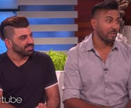 As Trump signs anti-Muslim ban, Ellen features Iraqi soldiers who fell in love