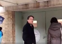 Pat McCrory chased down an alley in D.C. with critics shouting, 'Shame!'
