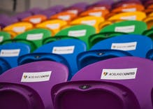 Orlando honors Pulse victims with rainbow colored stadium seating