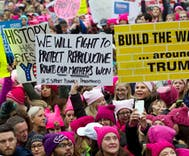 Women's March on Washington draws hundreds of thousands in D.C., around the world