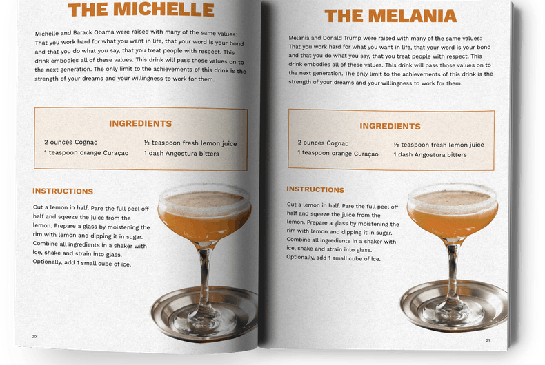 These Trump inspired cocktails can help you survive the next four years