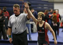 The trans teen wrestler forced to compete with girls won & now parents are upset