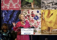 Sequins and slogans: NY Fashion Week designers embrace political statements