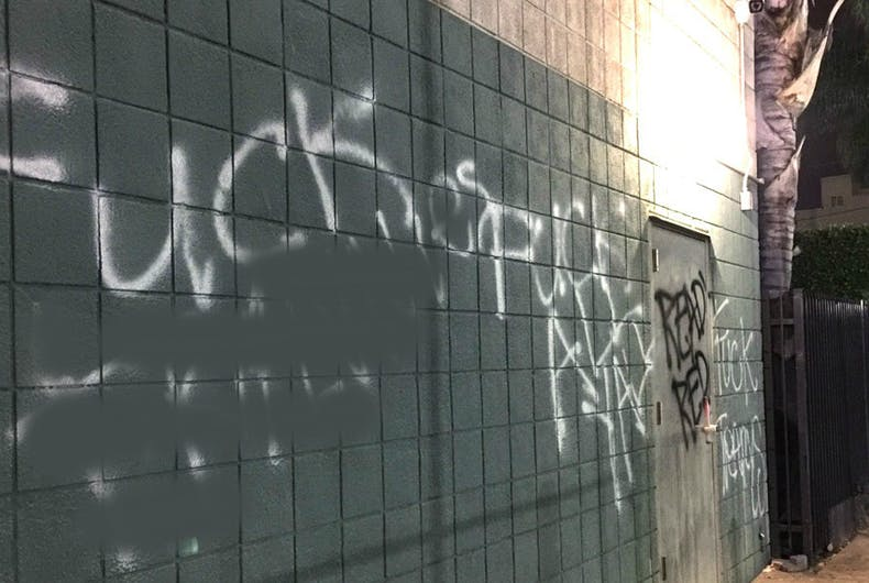 Vandals tag LGBTQ community centers in Los Angeles & Milwaukee with slurs