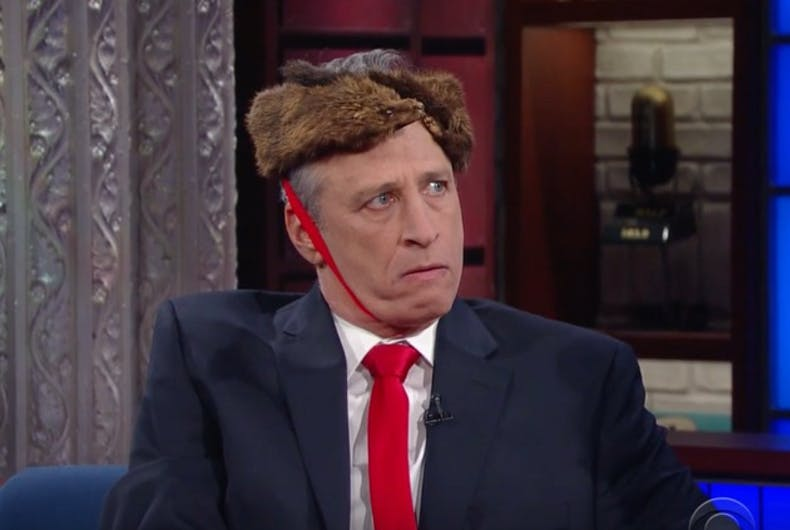 Jon Stewart ripped into Donald Trump last night on the Late Show