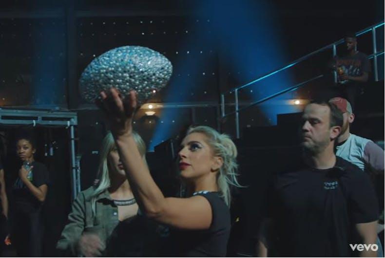 Lady Gaga Super Bowl behind the scenes