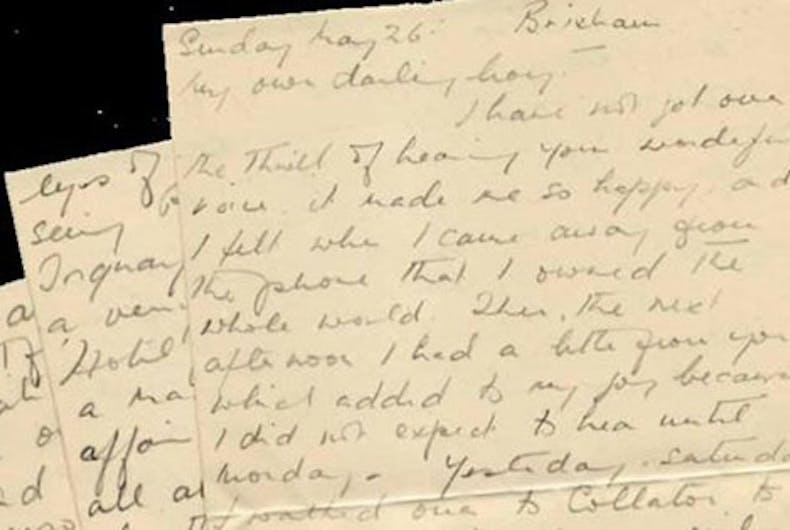 Love letters reveal a World War II soldier's secret same-sex romance