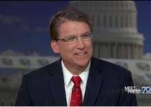Three lies former NC governor Pat McCrory told on 'Meet the Press' yesterday