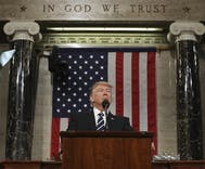 Fact check: All the times Trump stretched the truth during speech to Congress