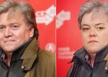 Rosie O'Donnell sparks rumors of Steve Bannon send-up with new avatar