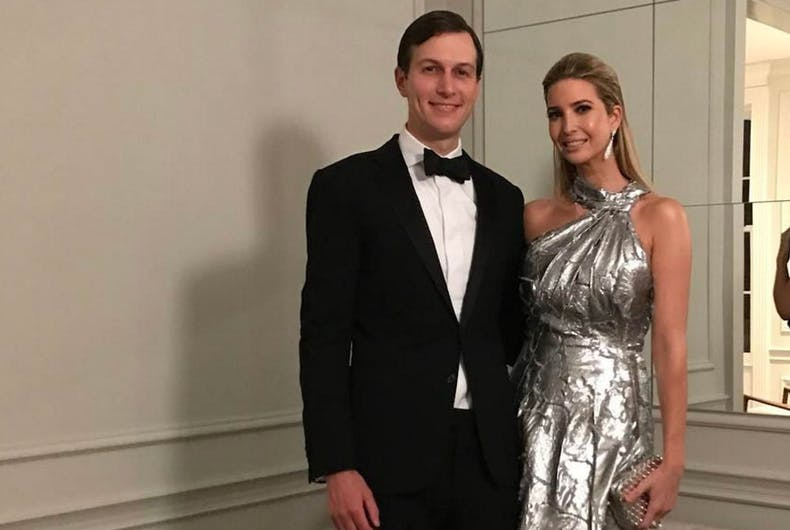 Ivanka Trump, Jared Kushner reportedly worked to stop anti-LGBTQ executive order