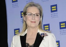 Meryl Streep goes after Trump again in emotional speech at HRC gala